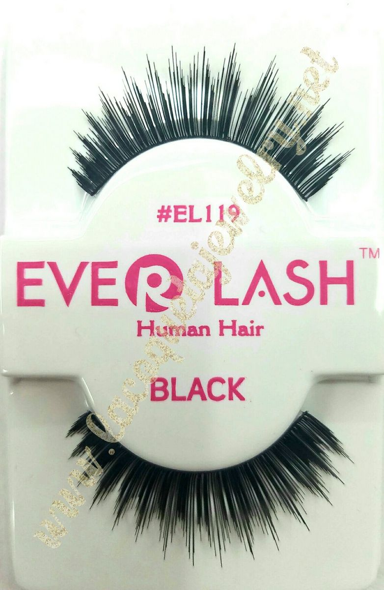 5 Pairs Everlash False Eyelashes Makeup Natural Fake Thick Black Eye