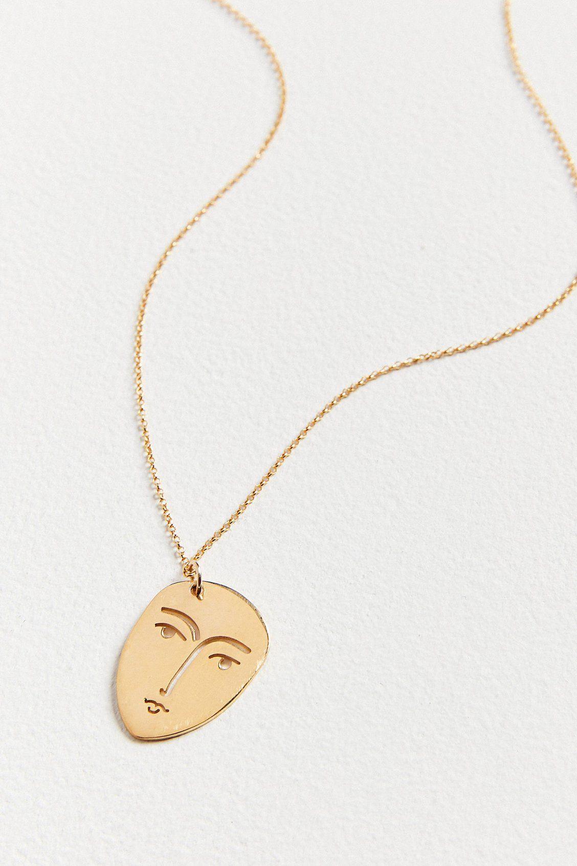 Face Pendant Kopi face pendant necklace urban outfitters urban and pendants kopi face pendant necklace urban outfitters audiocablefo