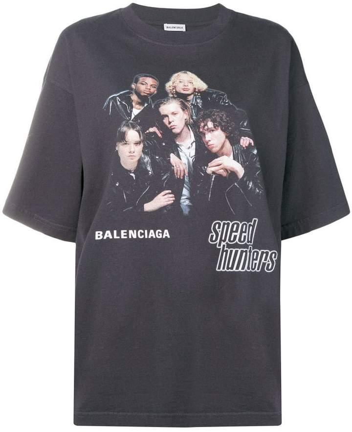 Balenciaga Speedhunters Boyband T Shirt
