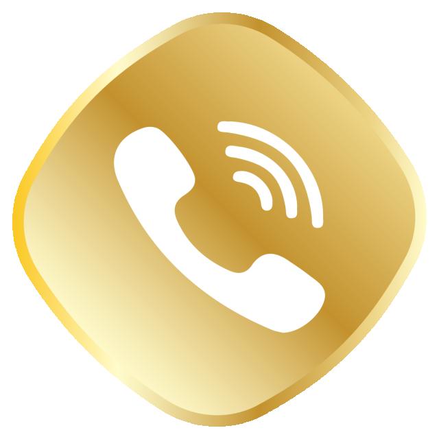 Golden Call Icon Whatsapp Logo, Whatsapp, Royal, Golden