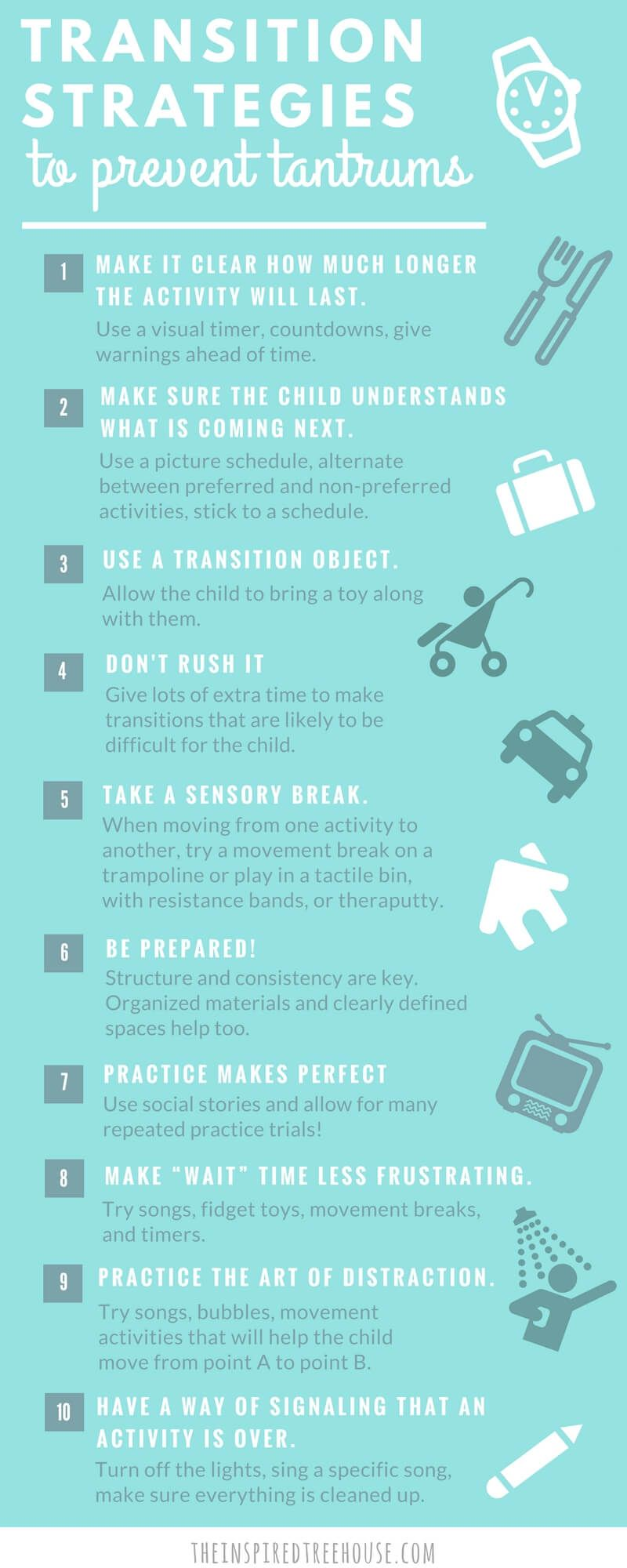 10 Calming Techniques and Transition Strategies for Kids