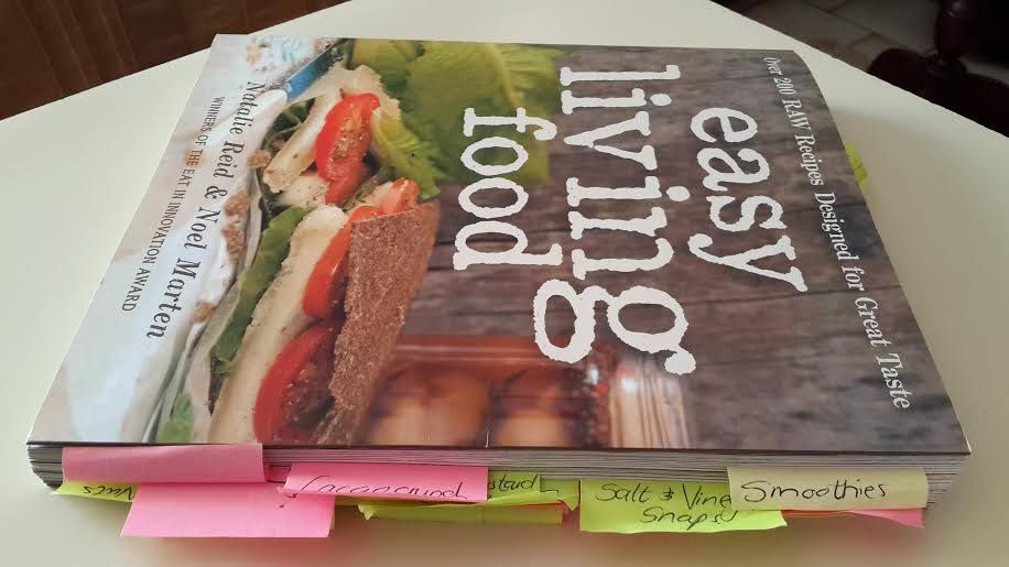 Our easy living food recipe book over 200 raw food recipes our easy living food recipe book over 200 raw food recipes forumfinder Images