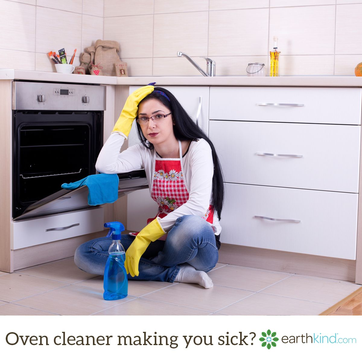 Are the fumes from your oven cleaner making you sick