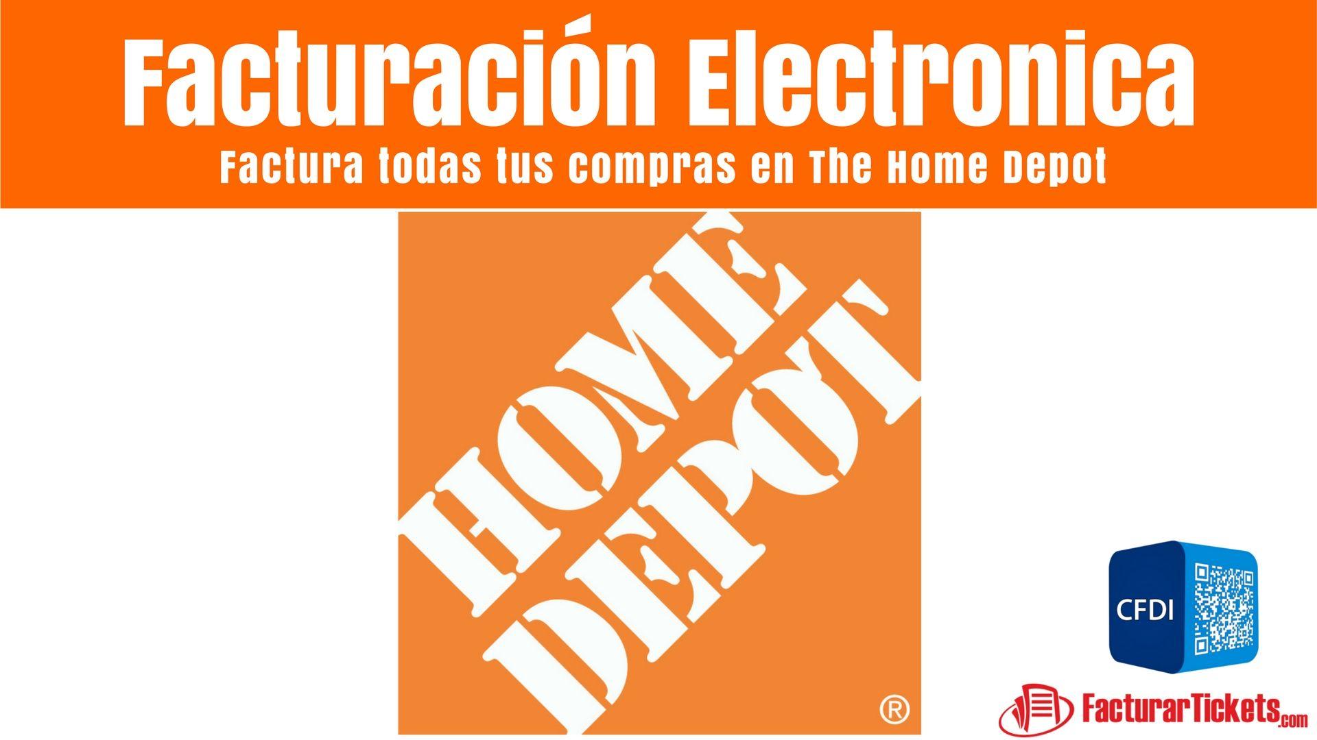 Home Depot Facturacion Electronica