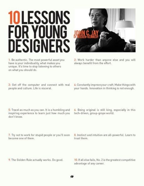 10 Lessons Every Graphic Design Student Should Know