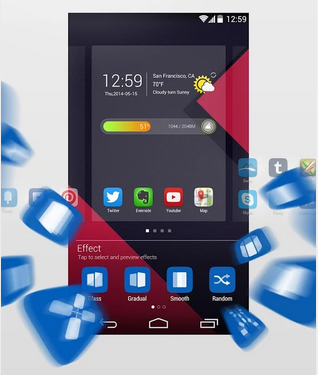 go launcher prime apk download