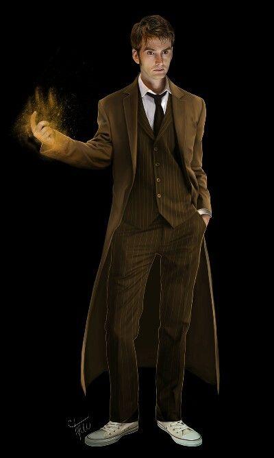 David Tennant and his magic hand