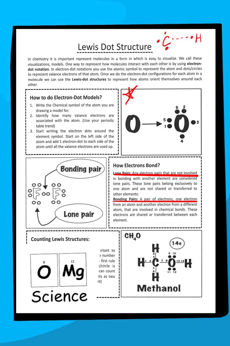 Lewis Dot Structures Worksheet Cheat Sheet By Omg Science Tpt Math Addition Worksheets Molecular Geometry Worksheet Template
