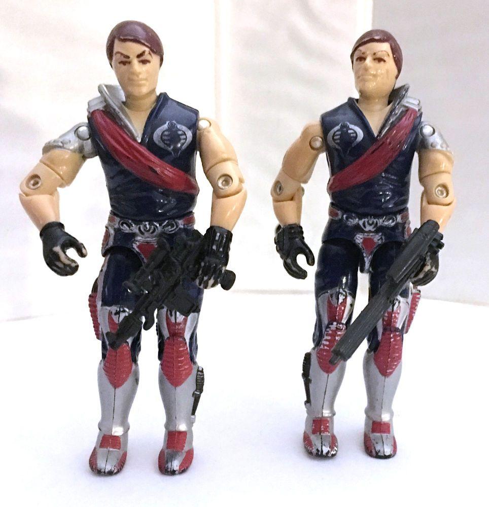 Vintage 1985 GI JOE Crimson Guard Commander XAMOT Figure