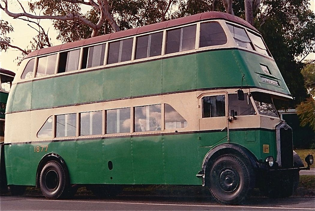 Sydney S Double Decker Bus Of The 50 S 60 S Double Decker Bus