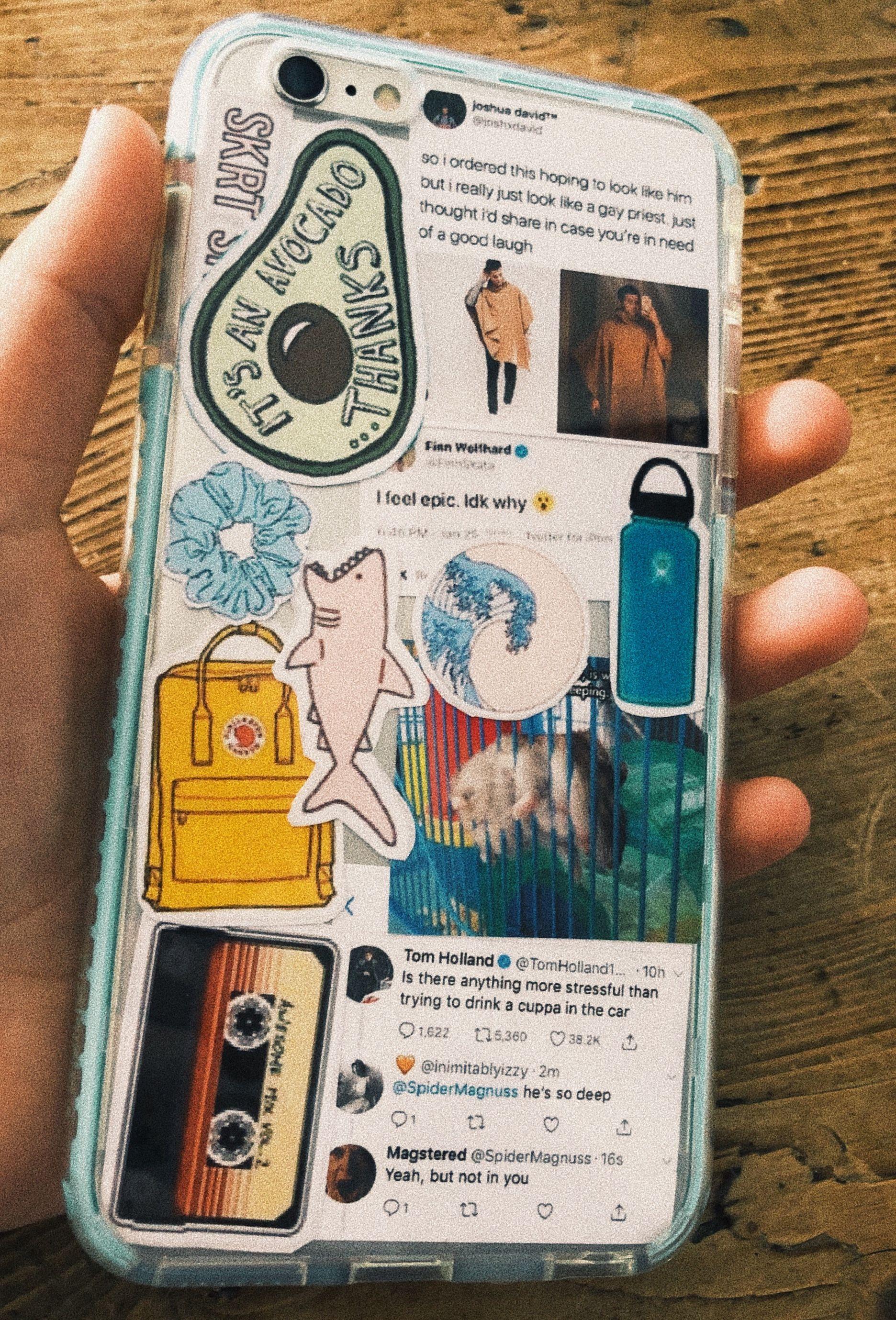 #aesthetic #phonecase #phone #stickers in 2019 | Diy phone ...