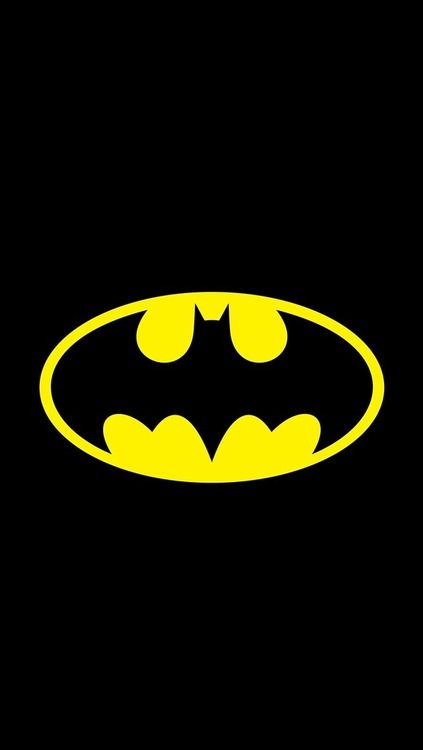 Batman Logo Iphone Wallpaper Batman Wallpaper Pahlawan Super