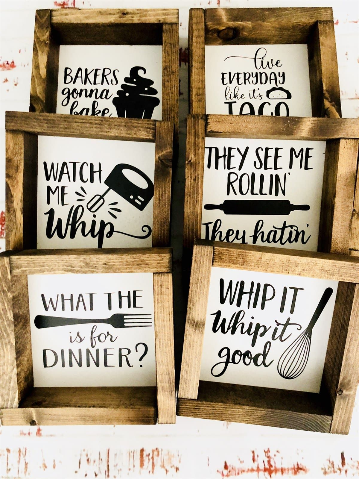 Funny Kitchen Decor Signs 6x6 Jane