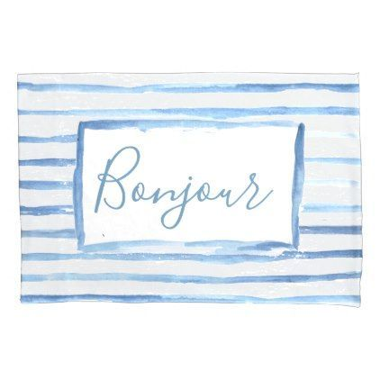 Painted Stripes Customizable Pillowcase | ,  Painted Stripes Customizable Pillowcase | ,