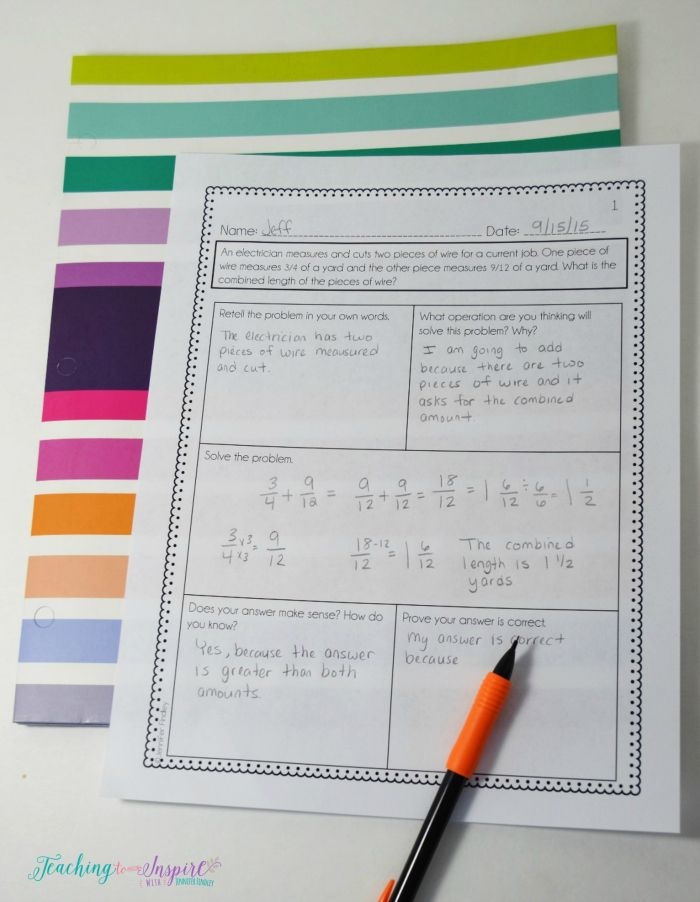 7 Ways to Support Students with Math Centers | Word problems, Math ...