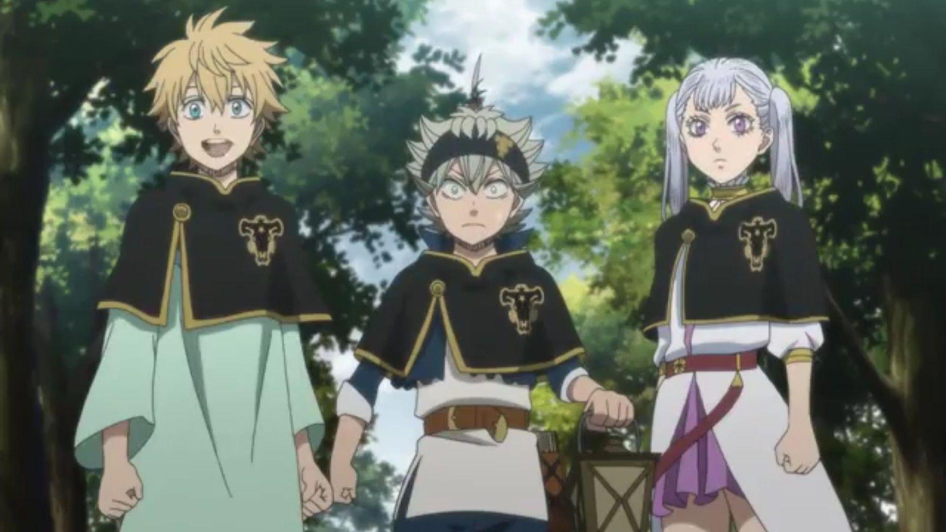 Ghim của Aquatis115 trên Black Clover trong 2020 Anime