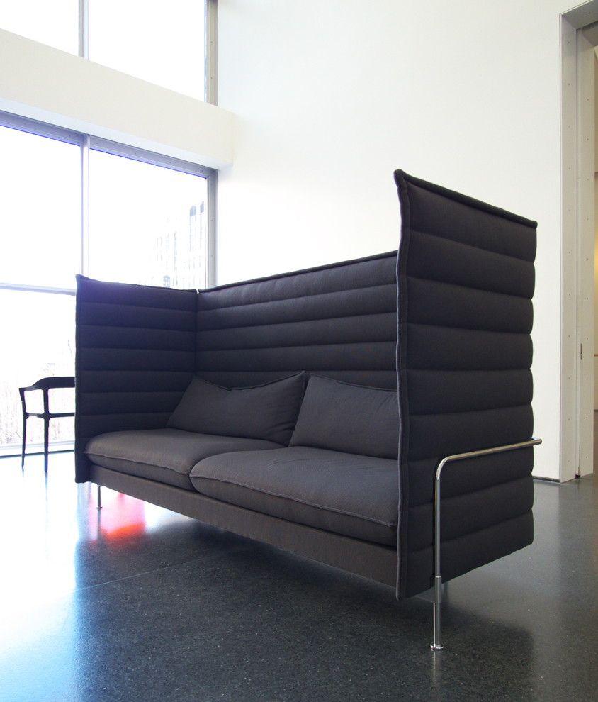 alcove highback sofa contemporary other chicago john hill rh pinterest com
