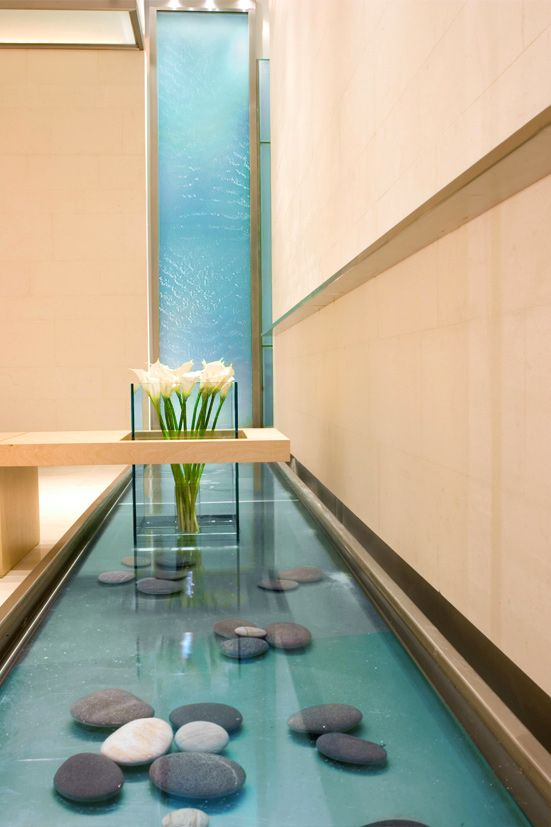 This would be awesome to have in the entry way to the - Indoor water feature ideas ...