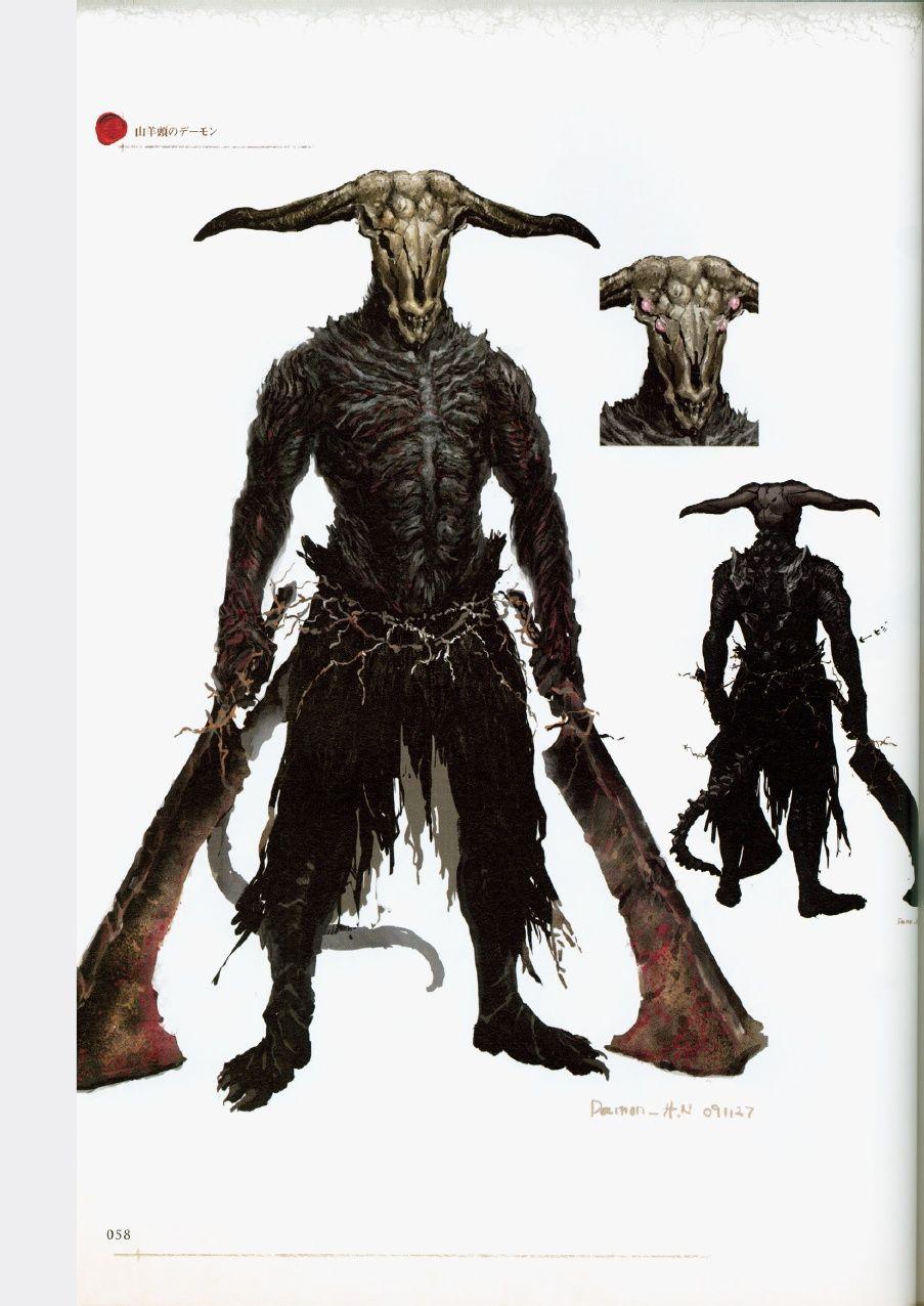 Dark Souls Character Design Process : Dark souls design works artbook concept