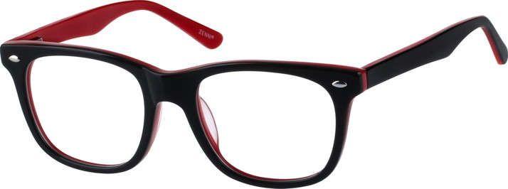 5d137eed3e7 Black Classic Wayfarer Eyeglasses 4412121