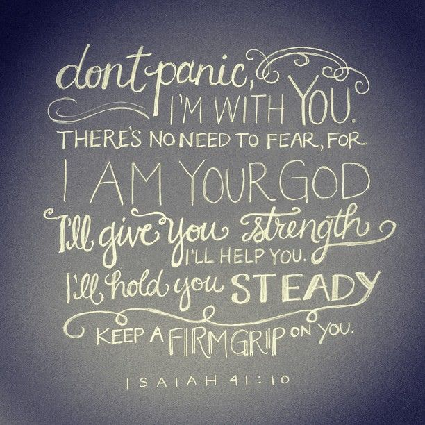Bible Quotes About Strength Isaiah 4110  Pinterest  Isaiah 41 10 Isaiah 41 And Strength