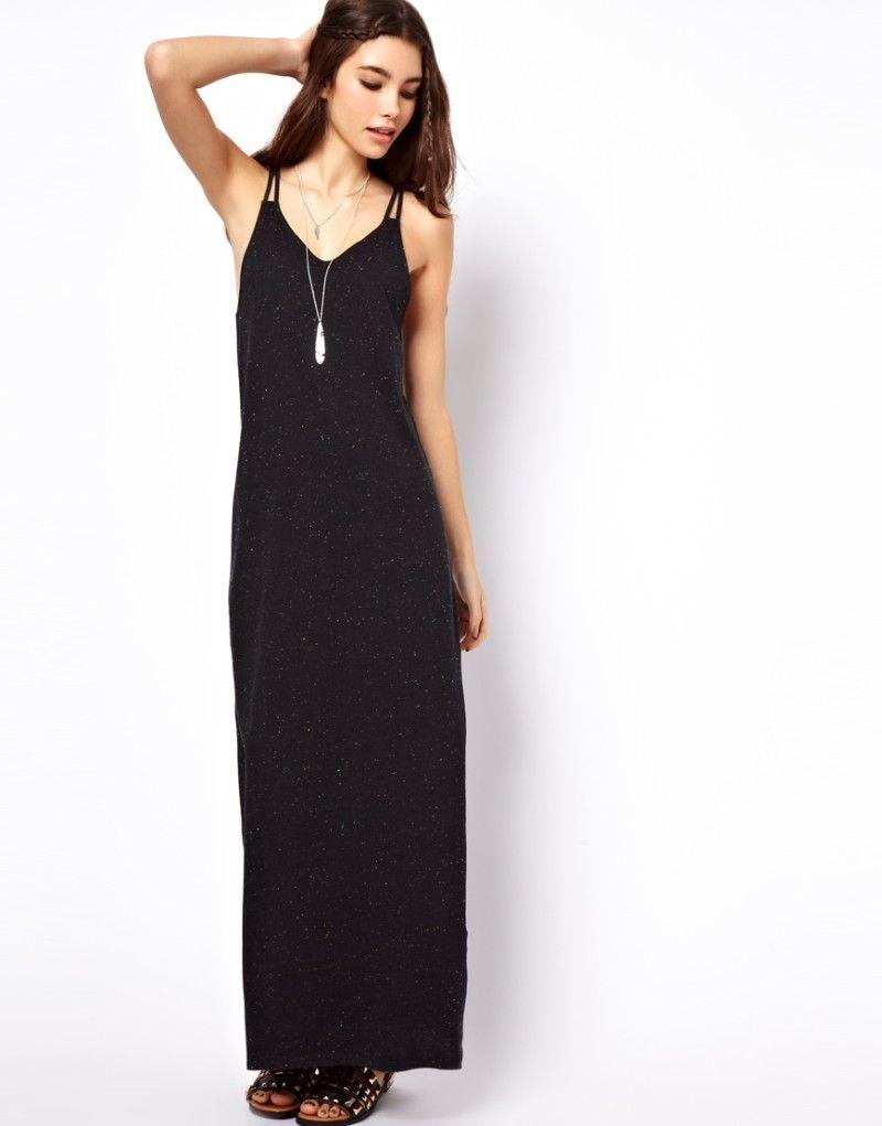 8b7b569c1b2 Petite-Black-Maxi-Dresses-Glitter- Petite Black Maxi Dress
