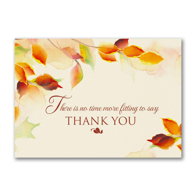 Watercolor Appreciation Thanksgiving Card Share Your Appreciation
