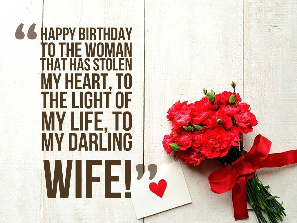 Romantic Birthday Wishes for Wife with Love Romantic Happy – Romantic Birthday Cards