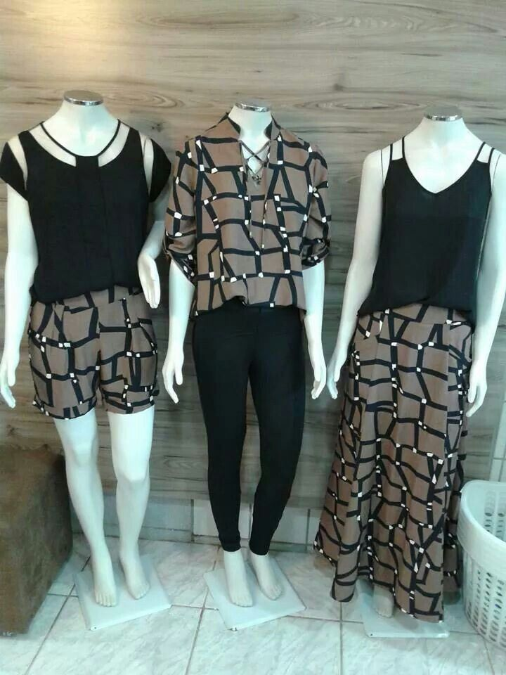 Shorts, blusas, calças de montaria, saias executivas e longa, bolsas, calçados,  acessórios,  dentre outras!