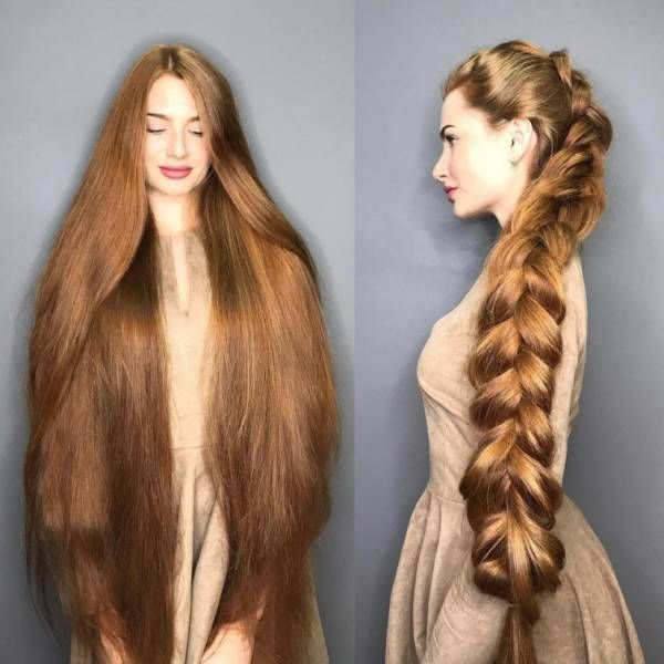 Meet Anastasia Sidorova Real Life Russian Rapunzel 30 Pics