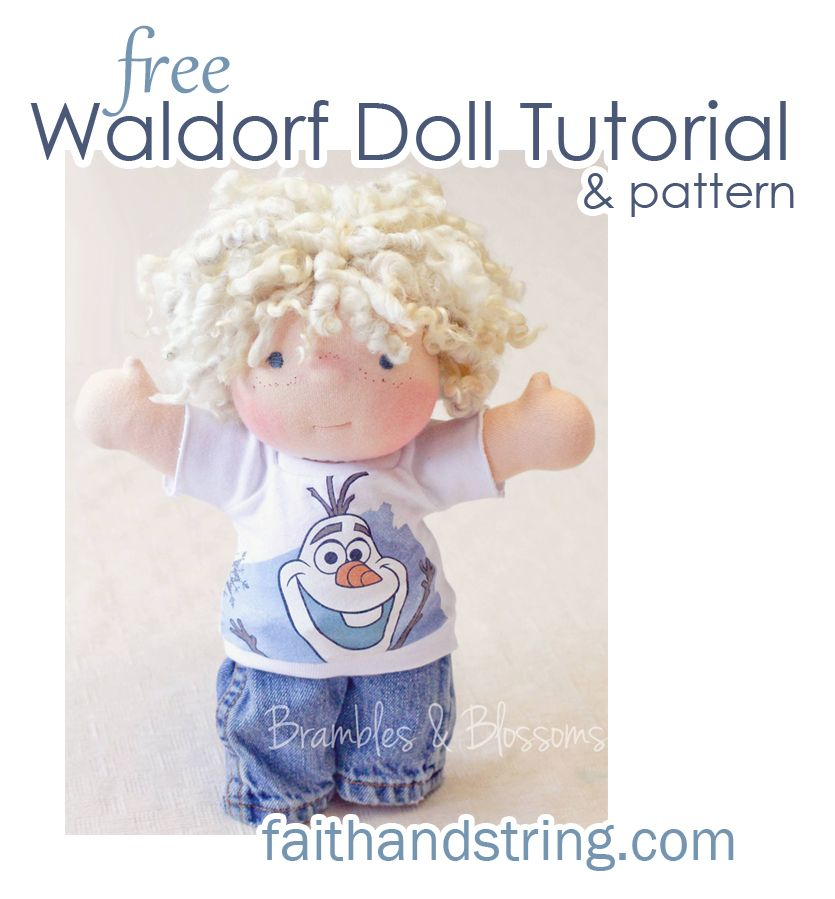 free pattern | Bonecas waldorf | Pinterest | Muñecas, Trapillo y ...