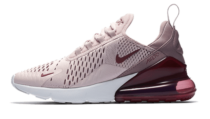 Buy fake AIR MAX 270 Vit Jacinth Sneaker Svart Lila Röd Enda