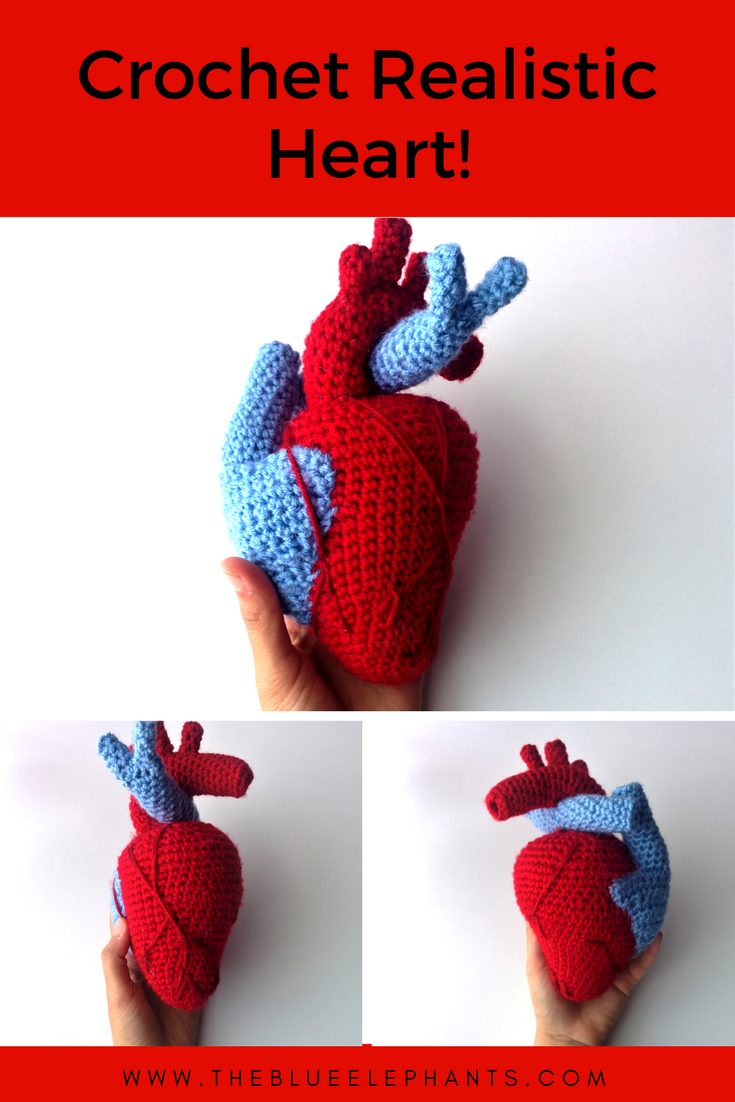 Crochet heart pattern national heart month easy patterns crochet heart pattern national heart month bankloansurffo Gallery