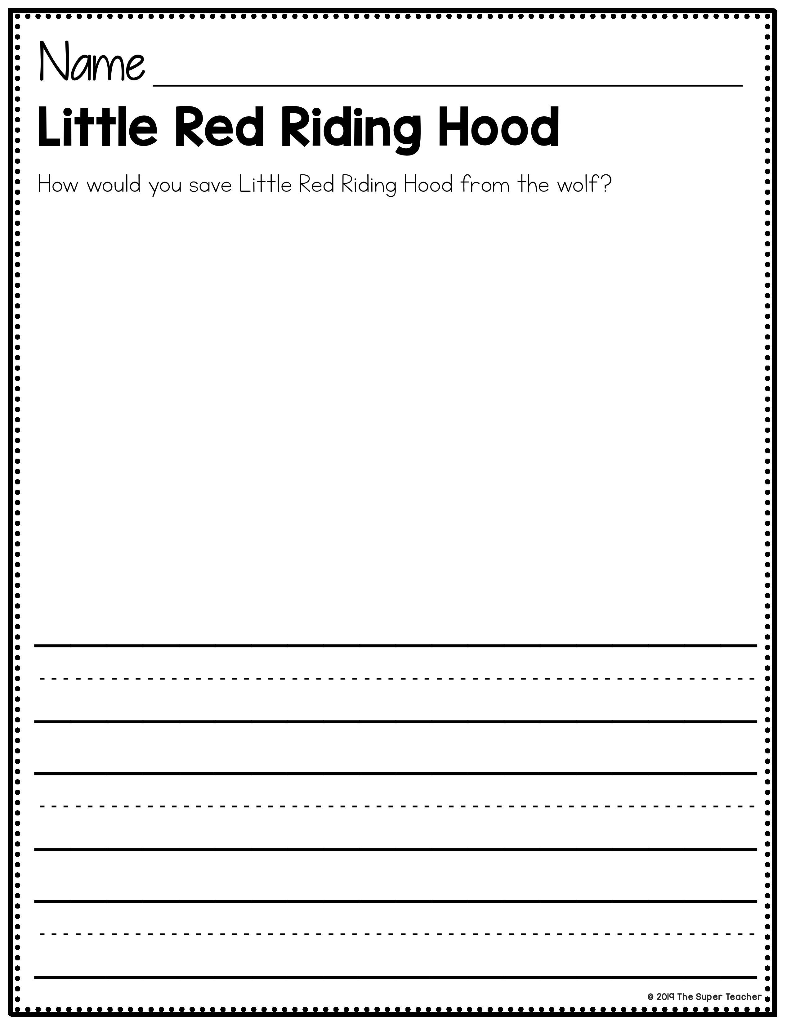 These Little Red Riding Hood Printables Are Awesome For Teaching Story Elements Like Character Sett Teaching Story Elements Story Retell Red Riding Hood Story