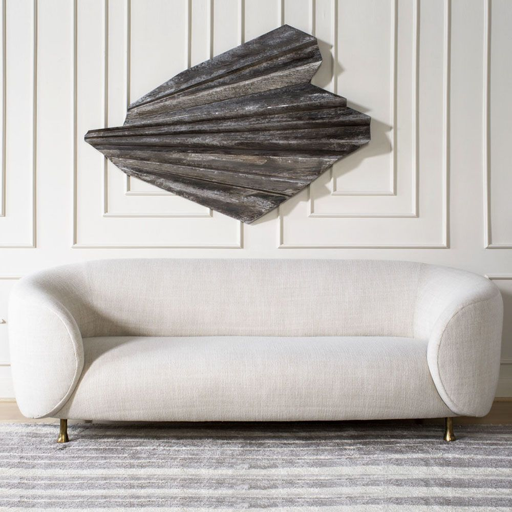 Kelly Wearstler Furniture: LUCIEN SOFA. Clean And Tailored Sofa