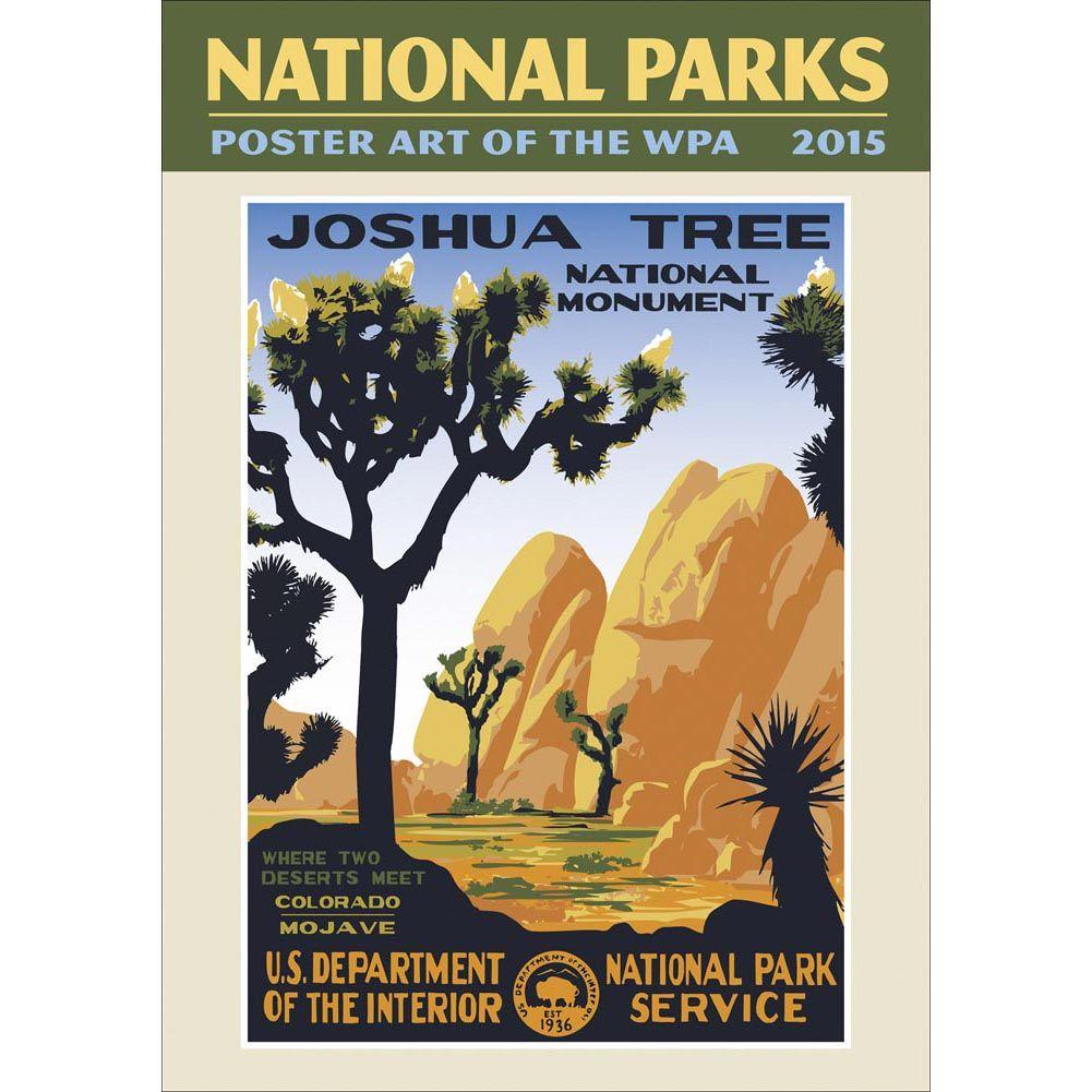 National Parks Poster Art 2020 Wall Calendar