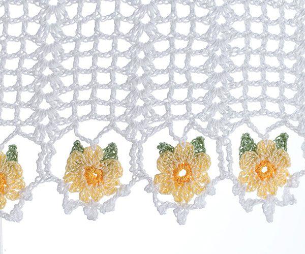 Curtains Ideas crochet curtain patterns valances : 17 Best images about Crochet Valance on Pinterest | Filet crochet ...
