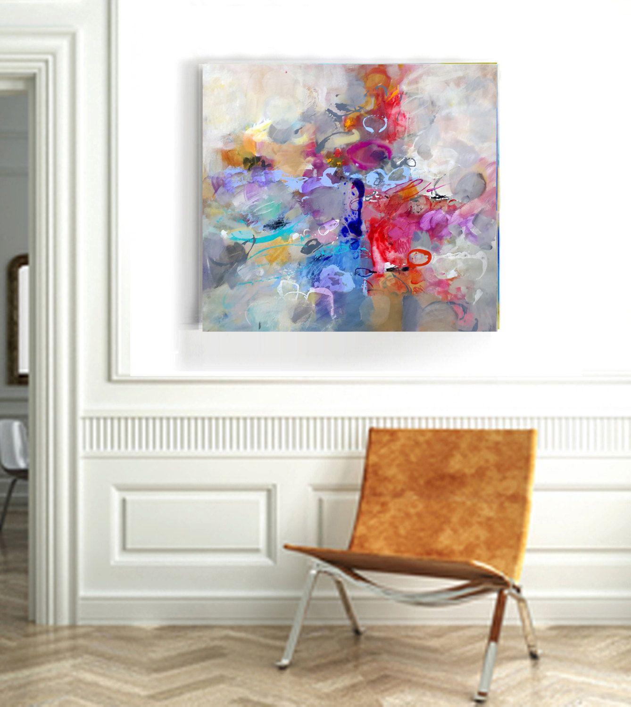 Abstract art original painting wall art canvas wall hanging