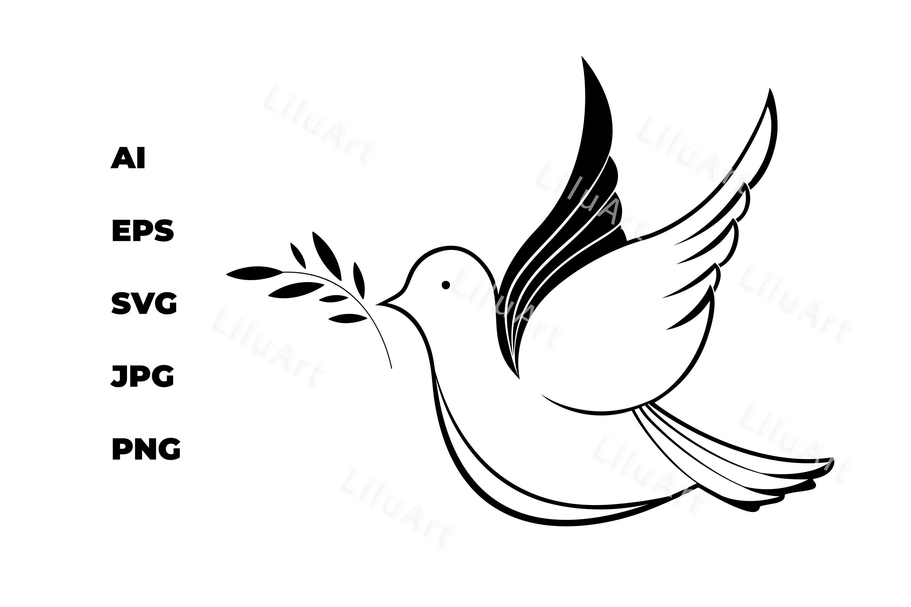 White Dove With An Olive Branch National Day Of Peace Olive Branch White Doves World Peace Day