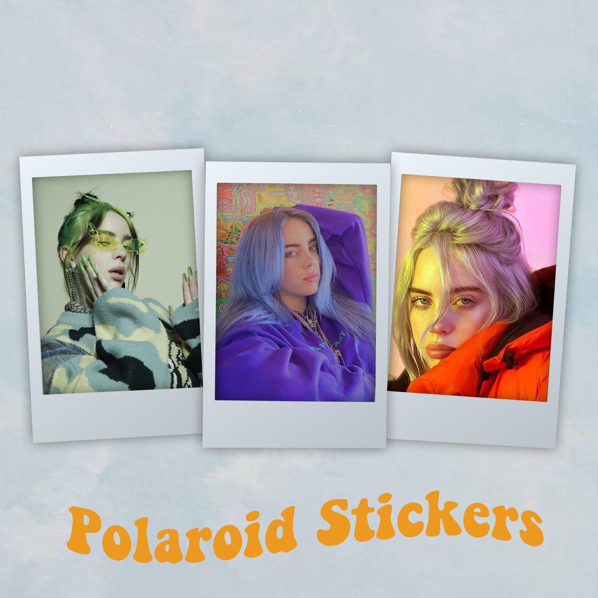 Billie Eilish Sticker Stickers Stickers Packs Billie Eilish