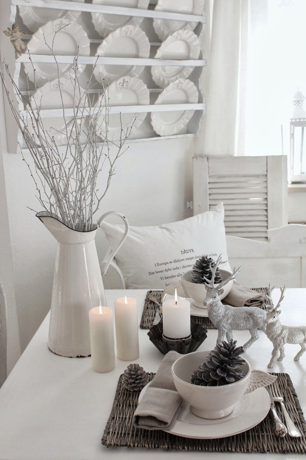 Landhausstil Deko Home Decor ....white And Shabby | Winterdekorationen ...