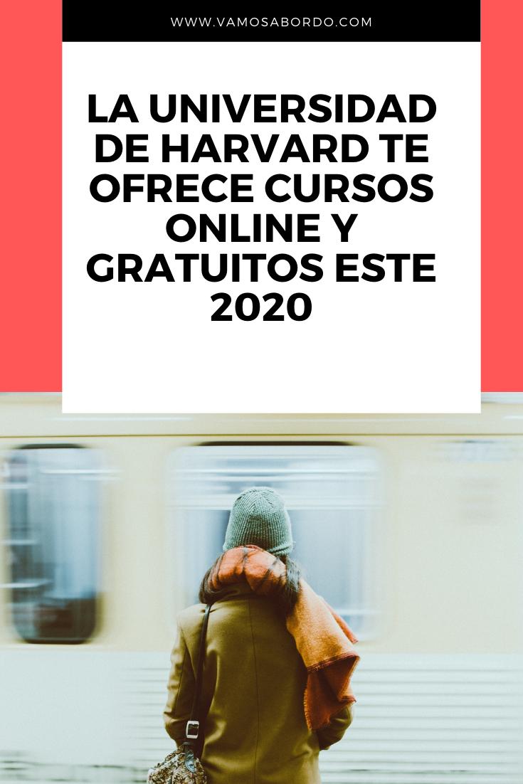 Cursos Gratuitos De Harvard Apúntate Aquí Vamos A Bordo Consejos Para Estudiar Cursillo Libros Sobre Educacion