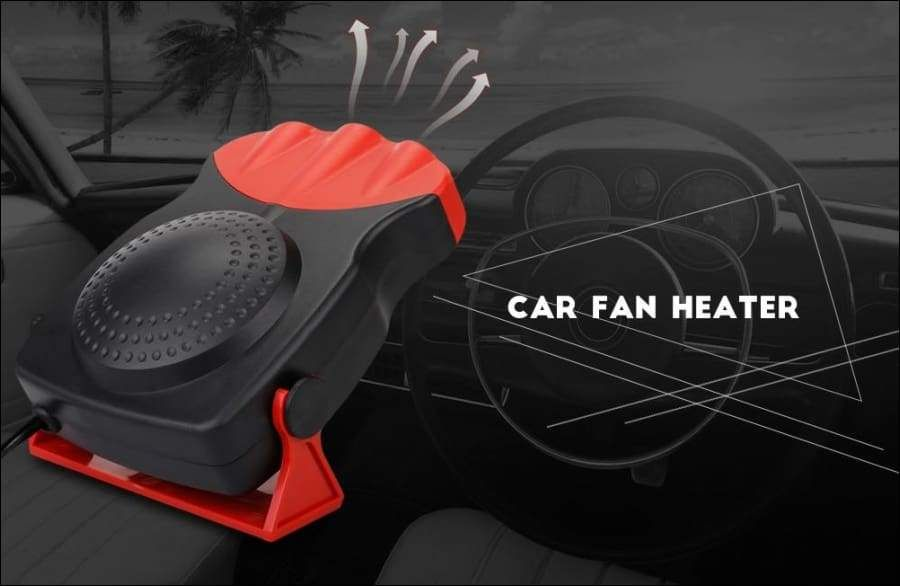 Defrost and defog car heater electric cooling fan car