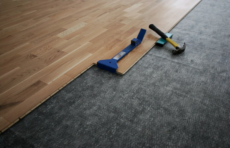 Flooring Underlayments Are Essential To Beautiful Hardwood Flooring Find Out How Installing Laminate Wood Flooring Fake Hardwood Floors Wood Laminate Flooring