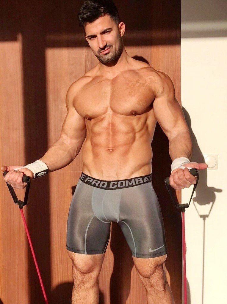 Men sexy hot pants sport shorts