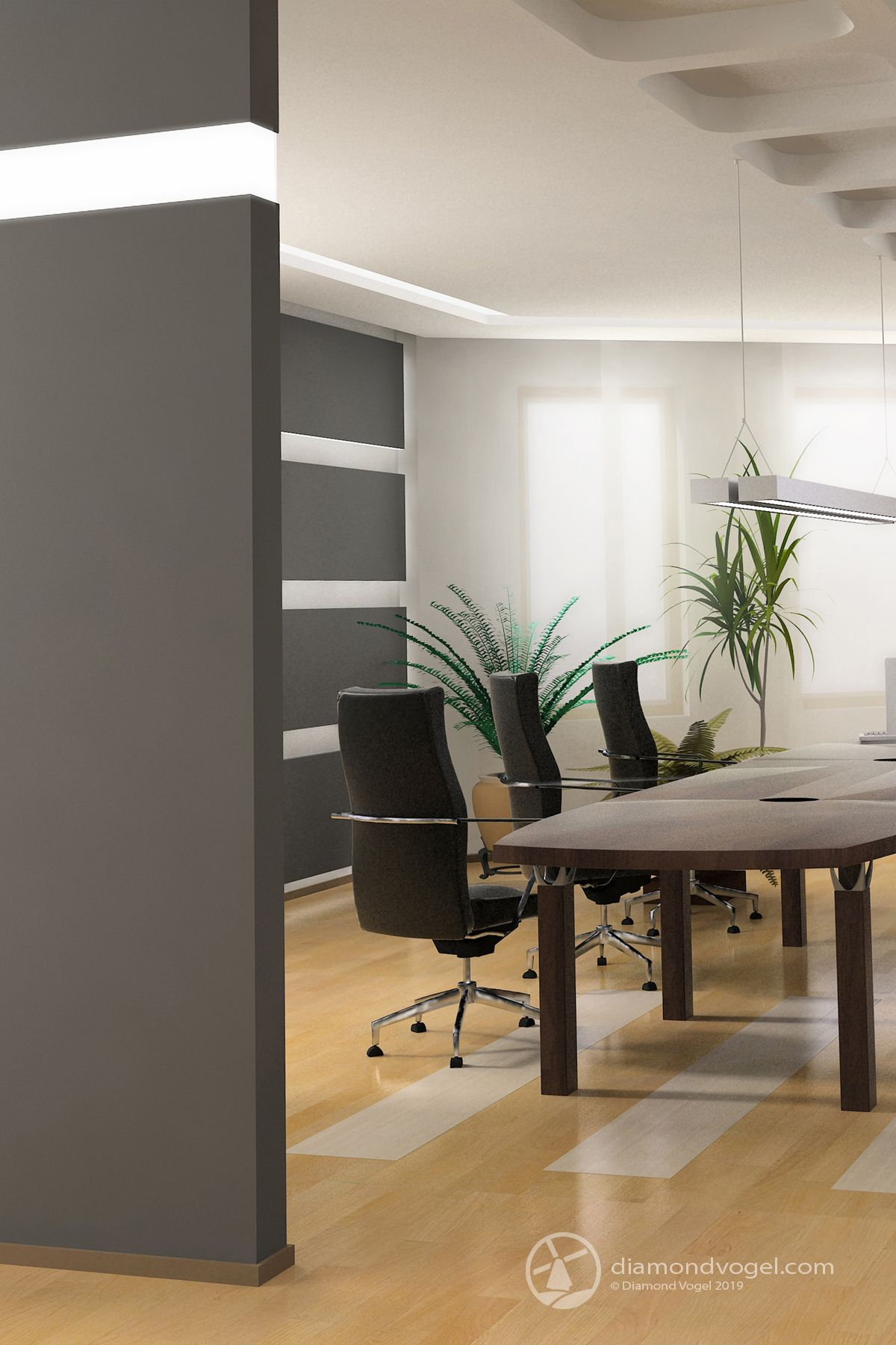 clean and modern office space using beautiful neutral on modern office paint schemes id=43724