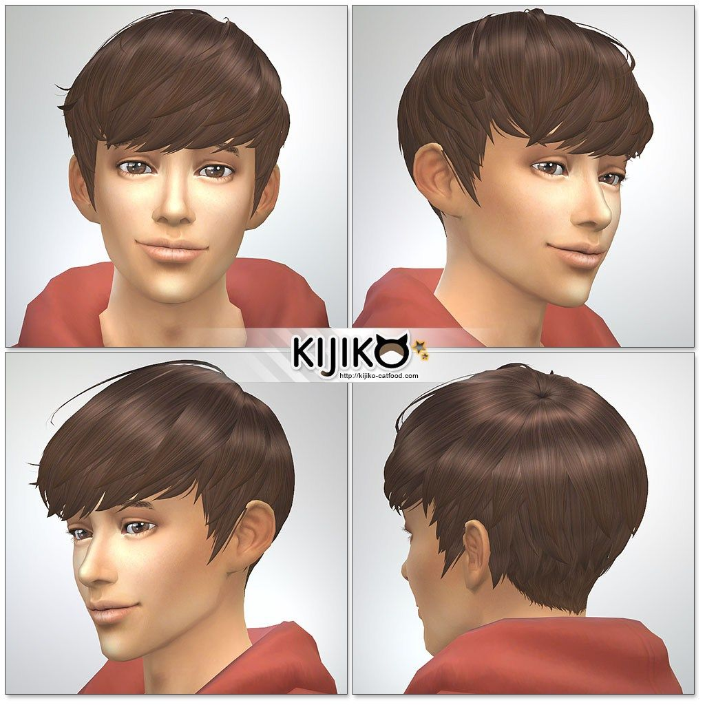 Sims4 Hair For Male Masculine Frame 4 Sims 4