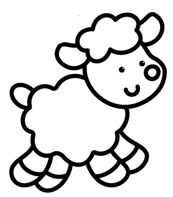 Coloriage petits activit s enfants pinterest coloriage coloriage animaux et coloriage enfant - Dessin facile pour enfant ...