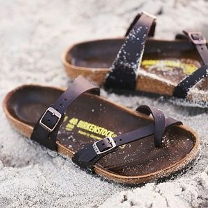 1a25222b0ae Birkenstock Shoes - ♡ Birkenstock Mayari oiled leather sandals 35 5 ...