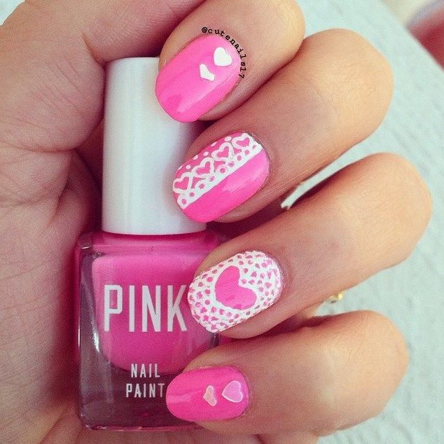 33 Cute Pink Nail Designs You Must See Manicure Pink Nails And Makeup